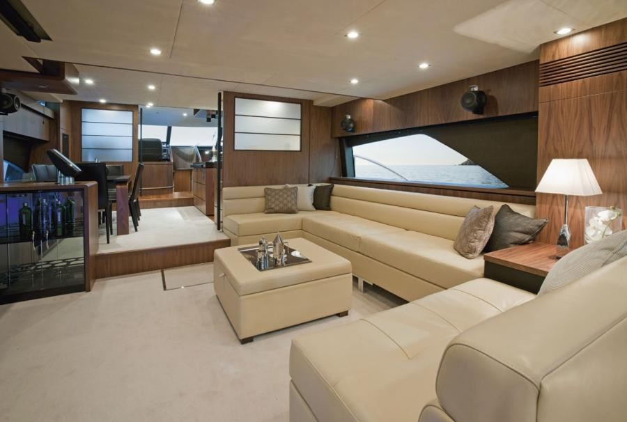 azzam yacht interior photos