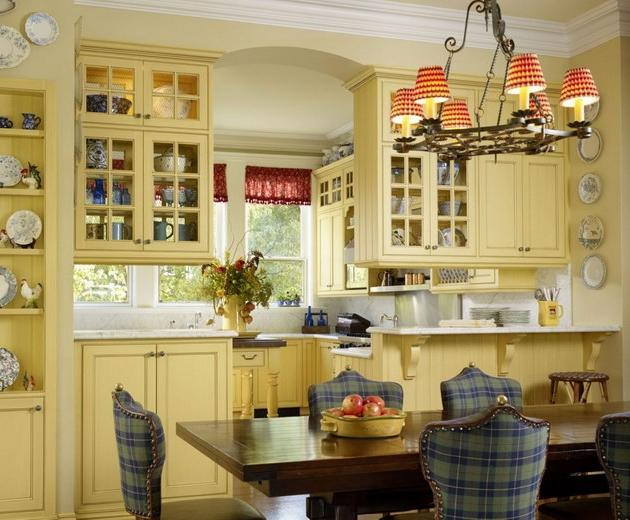 Traditional country houses photos for Traditional home great kitchens