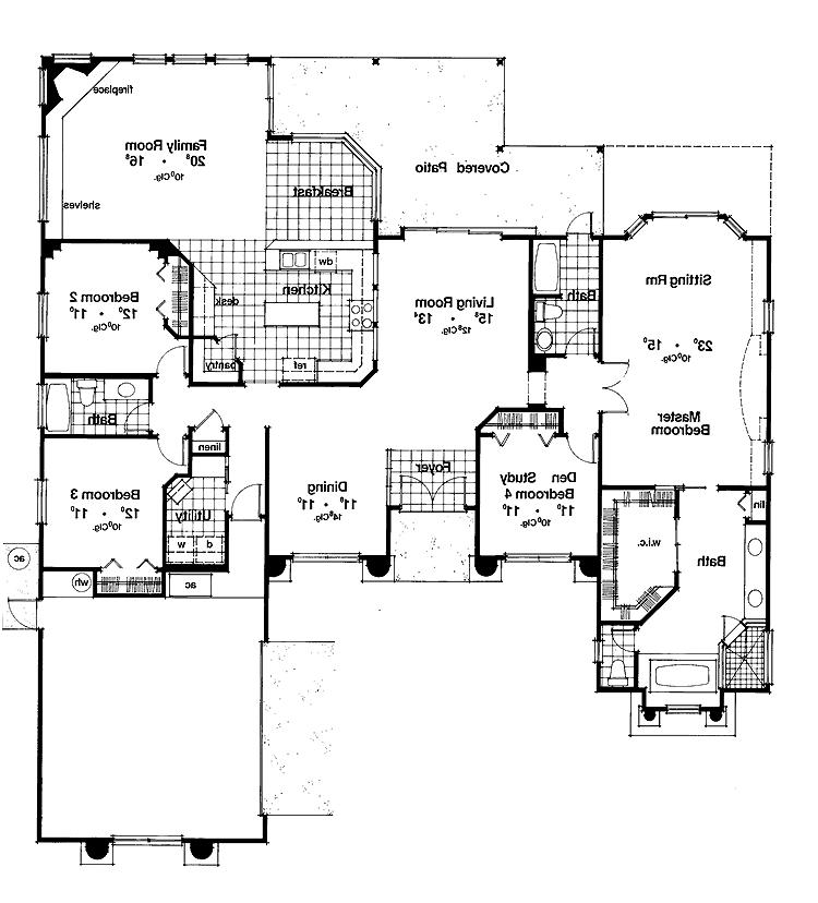 Open Floor Plan House Plans With Photos