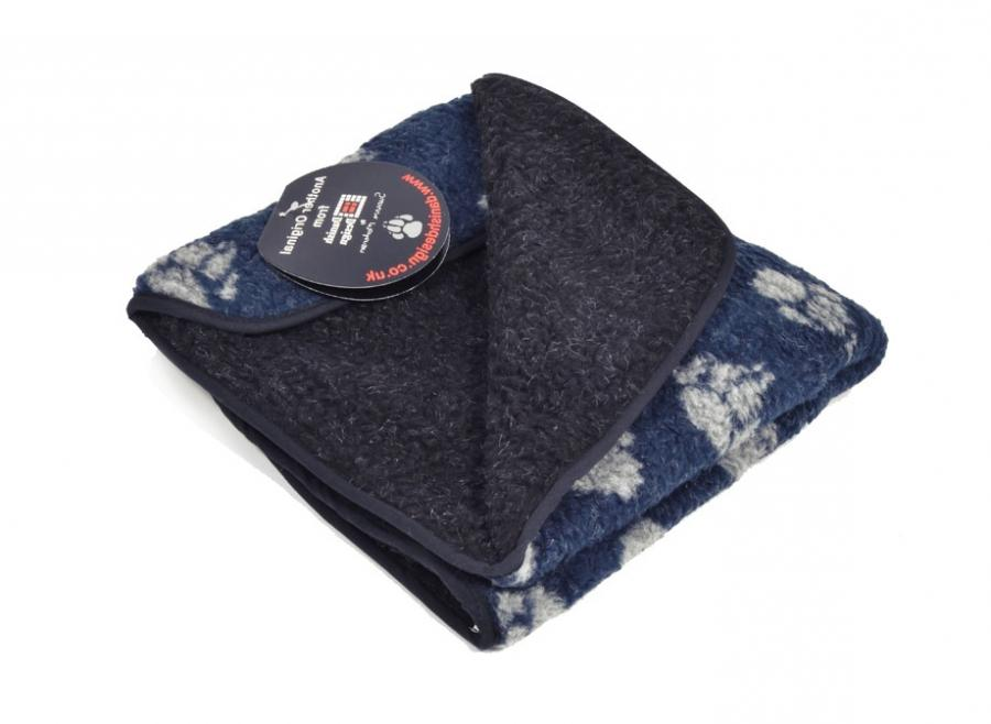 Super-Thick Fleecey Dog Blanket A traditional, thick, sherpa...