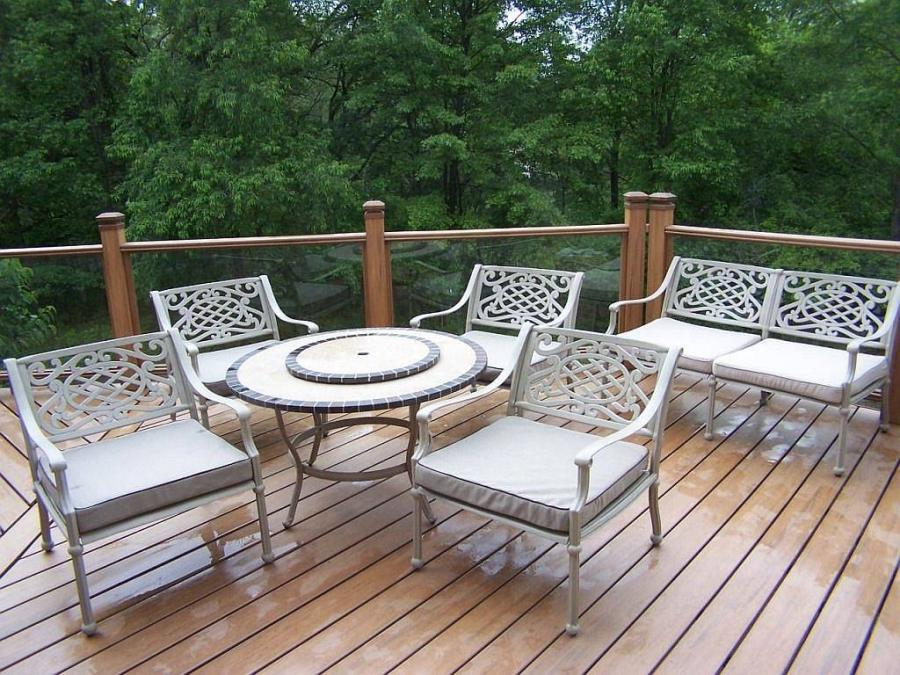 Elegant Balcony Deck Design Ideas