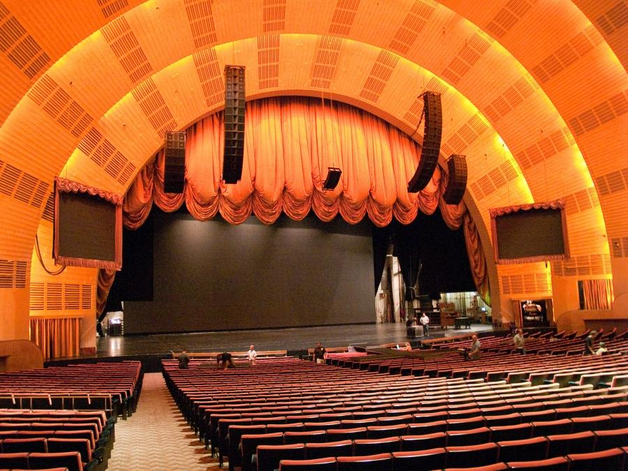 Radio City Music Hall Interior Photos