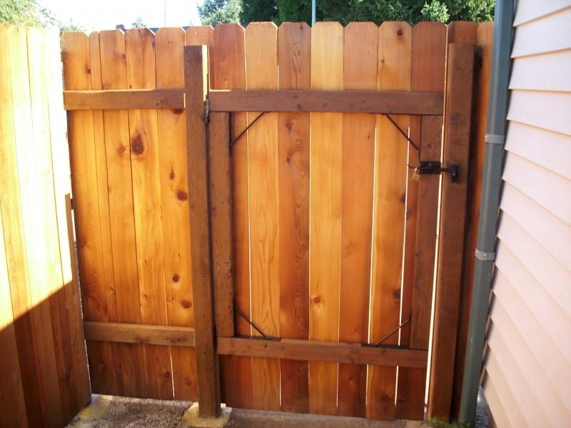 Cedar Fence Gates Photos