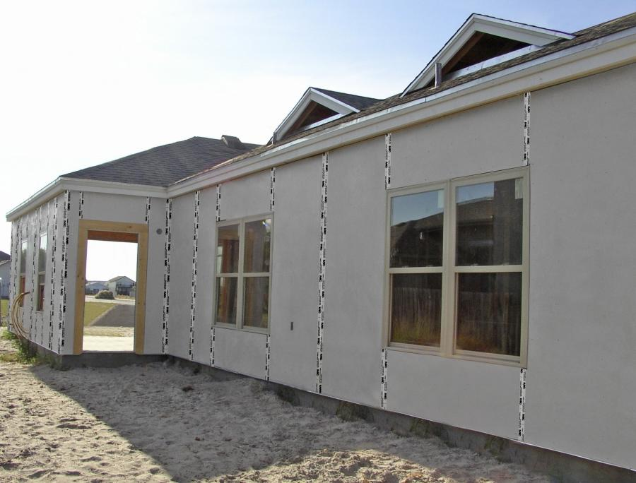 Stucco Panels For Metal Building : Stucco building photos