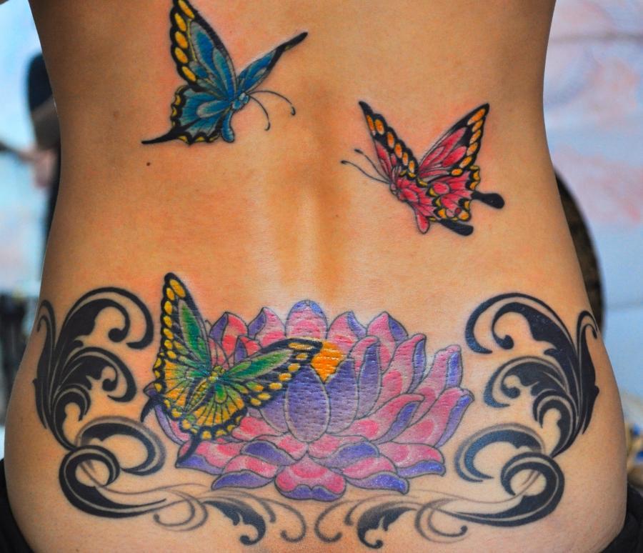 Flowers tattoos photos for Hawaiian flower tattoos meaning