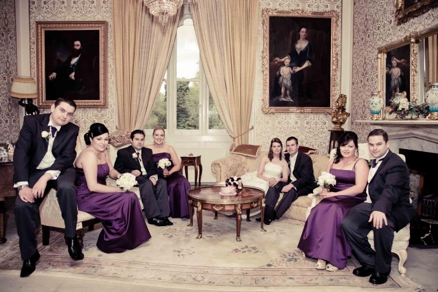 I like this one too at Cabra Castle from a wedding I photographed...