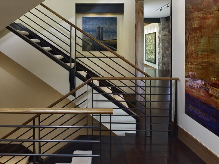 Interior Stair Railing Photos