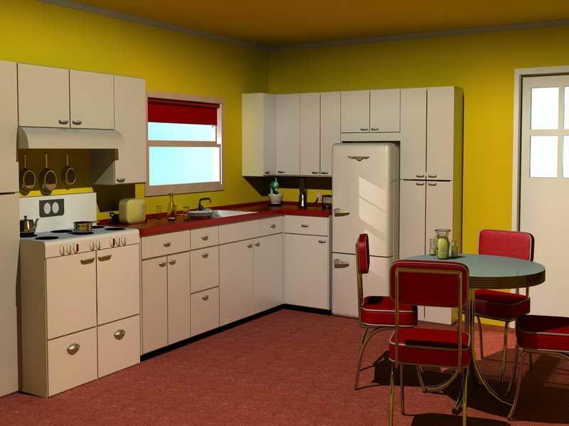 1950 Kitchen Design Photos