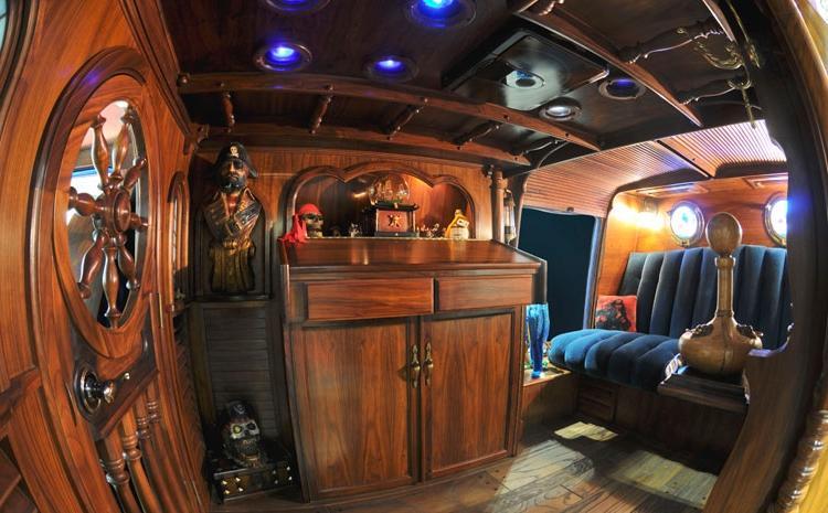 Dodge Conversion Van >> Custom van interior photos