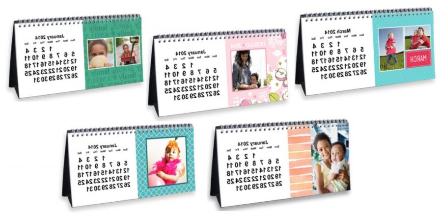 walmart photo desk calendars