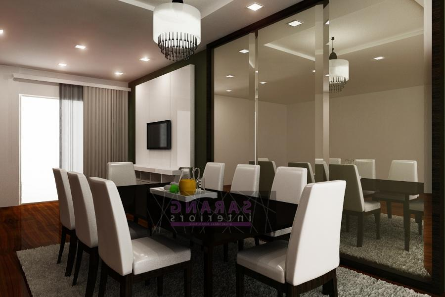 Sarang Interiors Modern Tropical Interior Design By: Dining Hall Interior Photos