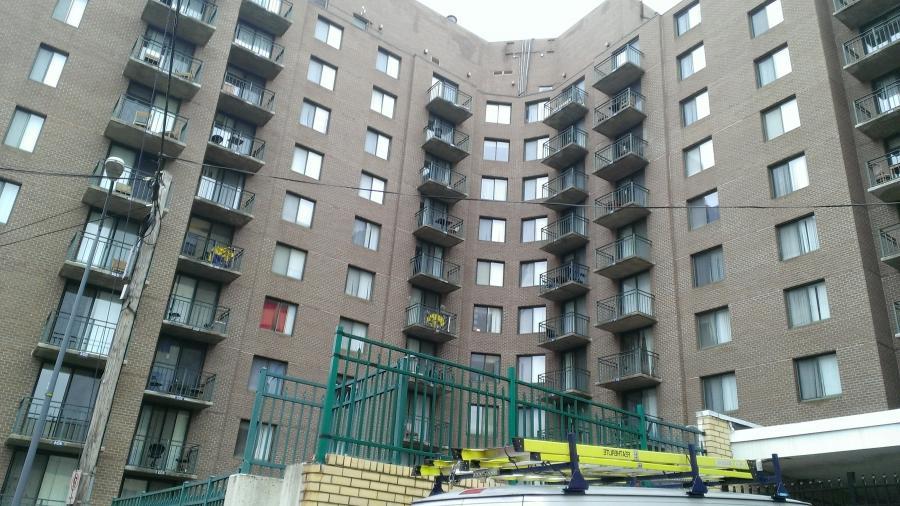 Photo apartment complex