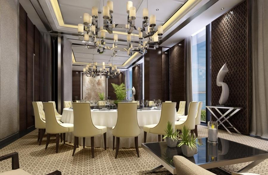 French-style restaurant Room Interior Design