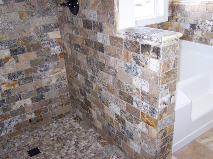 Tumbled Stone Flooring Photos