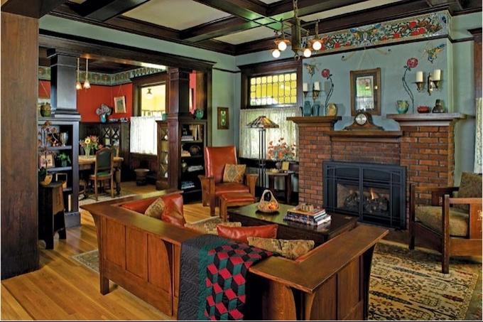 Arts And Crafts Interior Photos