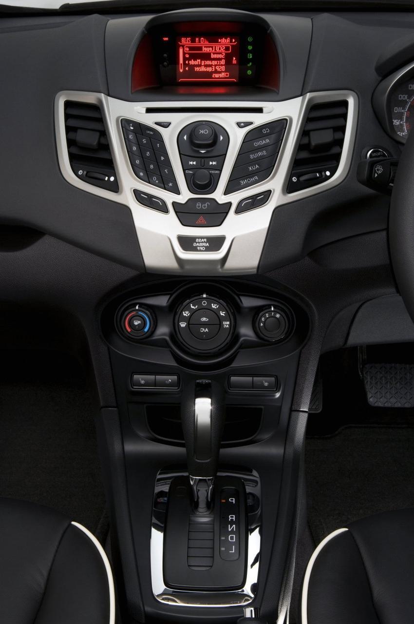 New Ford Fiesta 2011 India Interior Photos