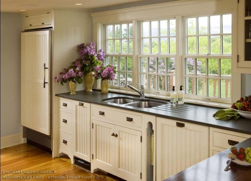 Country kitchens designs gallery photos for Country kitchen designs layouts