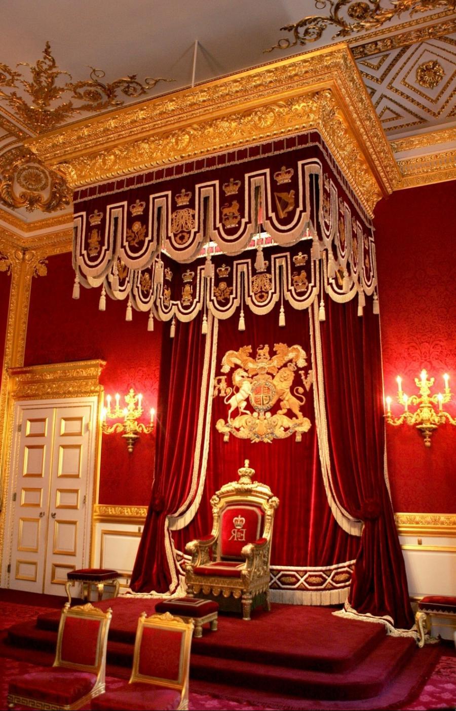 Throne Room Buckingham Palace Photos