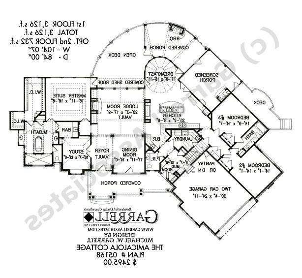 Amicalola Cottage House Plan Photos