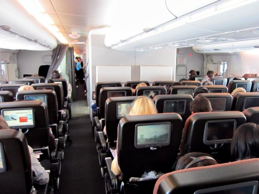 Qantas A380 Interior Photos
