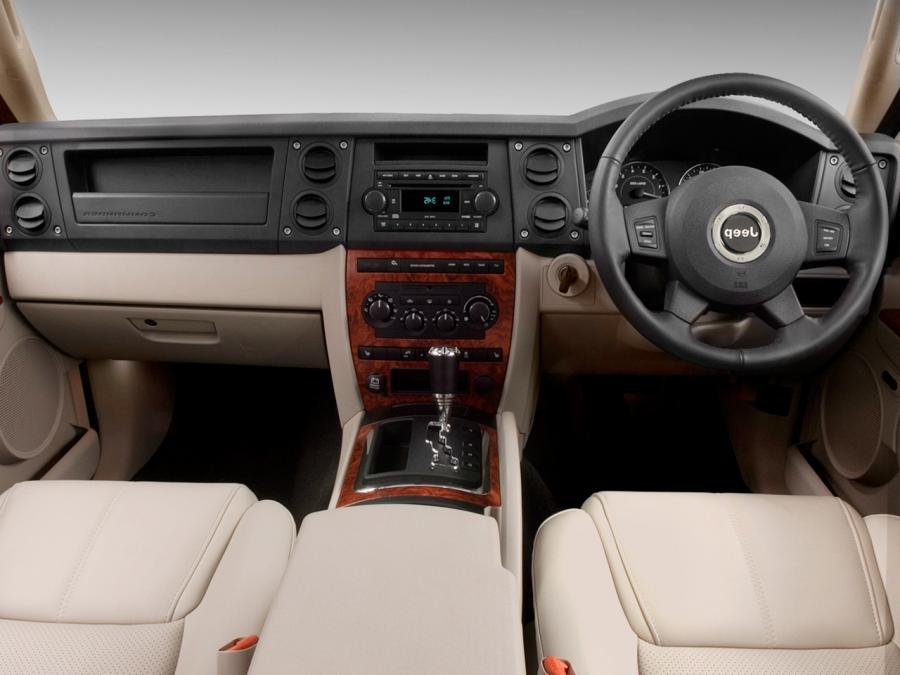 2006 Jeep Commander Interior Photos