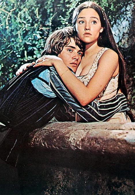 Romeo (Leonard Whiting) and Juliet (Olivia Hussey)
