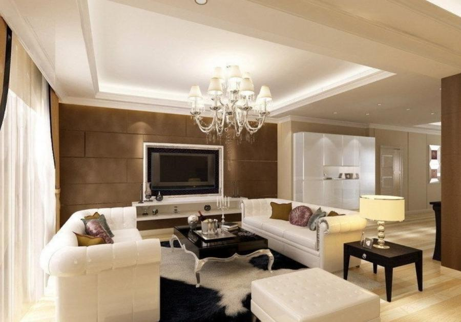 Modern Gypsum Ceiling Designs for Living Room