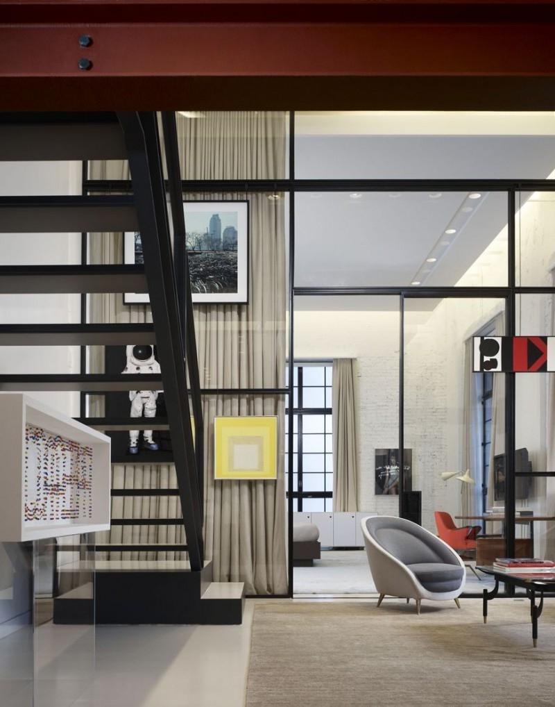 Loft interior design photos - Loft industriel design eclectique reiko feng shui ...