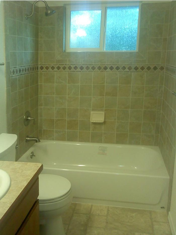 Bathroom tile tub photos for Bath remodel spokane