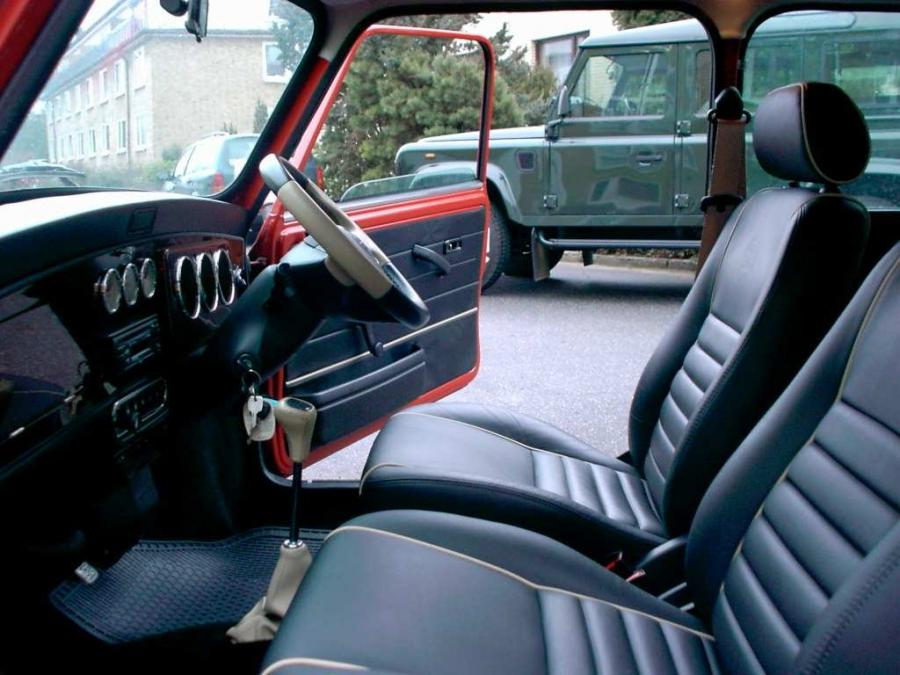 Classic Mini Cooper Interior Photos