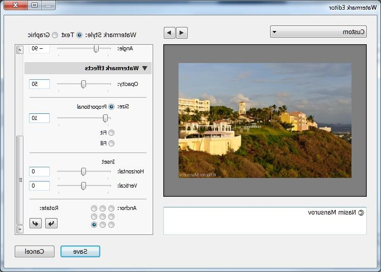 how to change copyright in lightroom