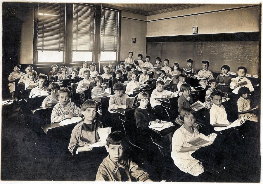 19th Century Classroom Photo