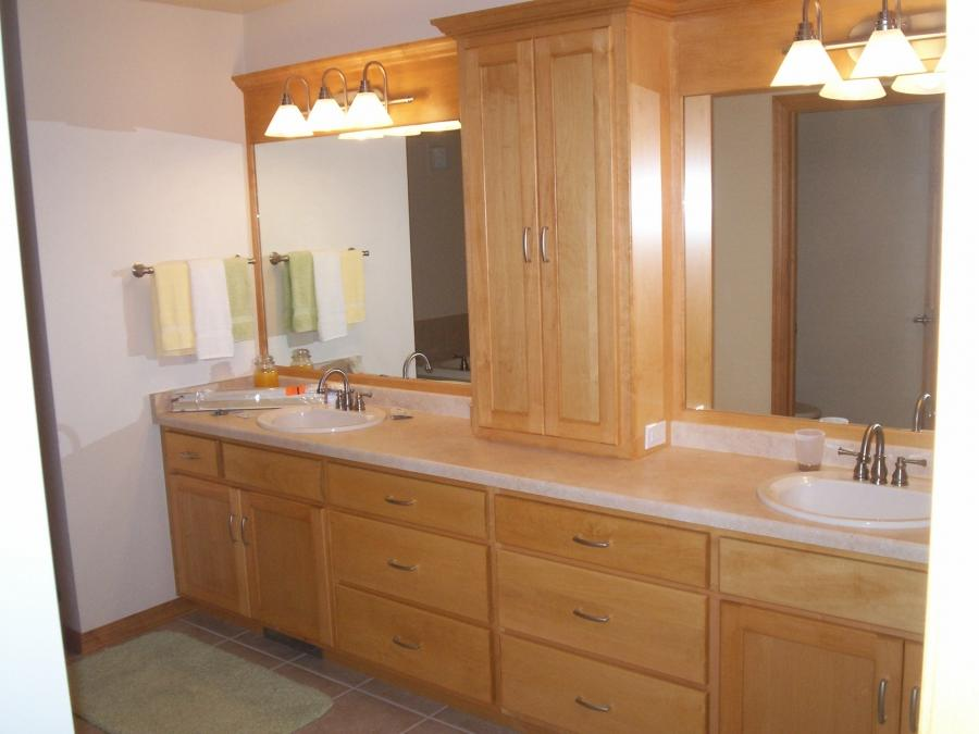 Tips Design Bathroom Cabinet Ideas To Your New Bedroom Designs »...