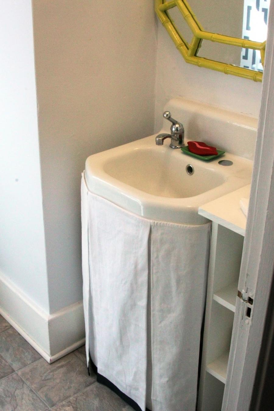 Bathroom Sink Skirts Photos