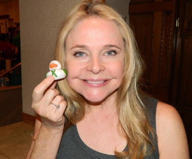 The ducks of sandy hook elementary with actress priscilla barnes