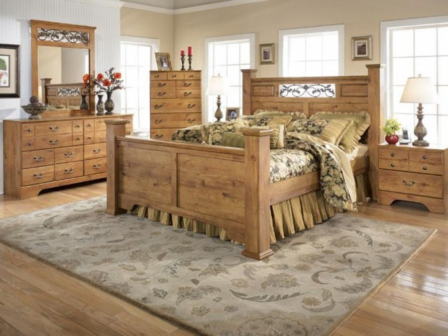 French Country Bedroom And Modern Pine Furniture Interior Design