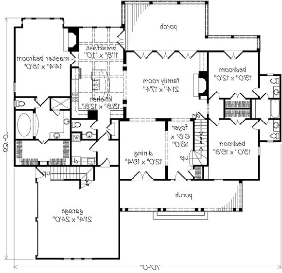 New oxford house plan photos for Oxford floor plan