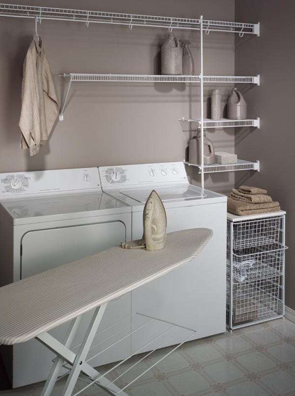 minimalist saving laundry room latest shelving organizing tips