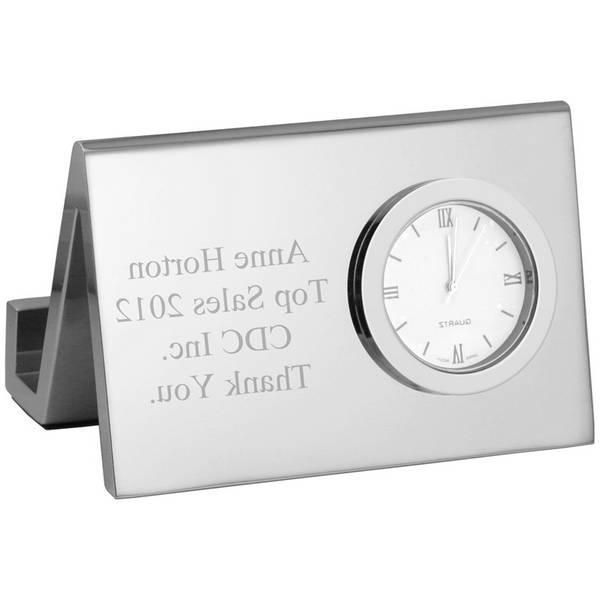 Personalized Photo Desk Clocks