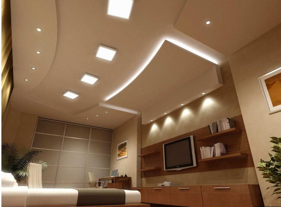 Check This Creative Idea Living Room Ceiling Lighting Modern Sofa Plaster Simple Design