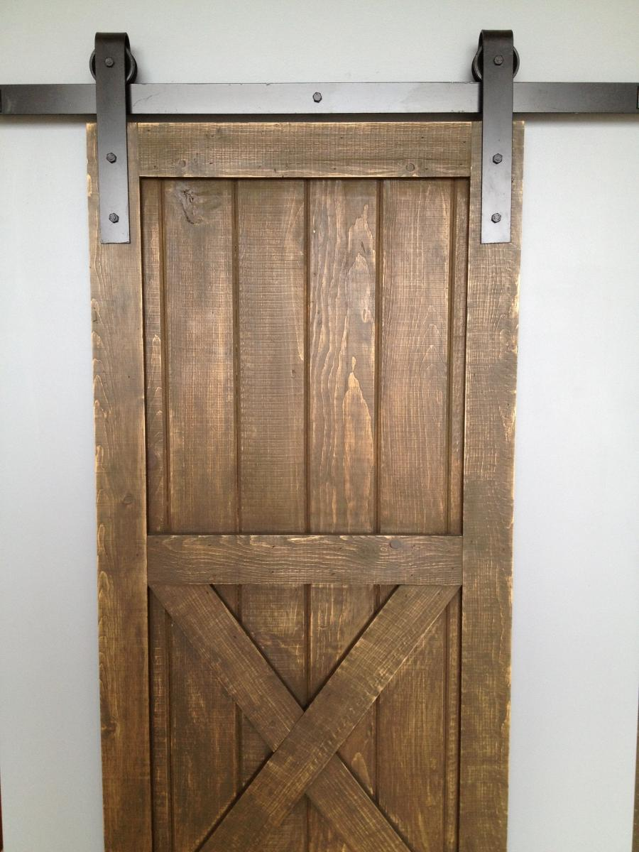 Barn door photos for Single sliding barn door