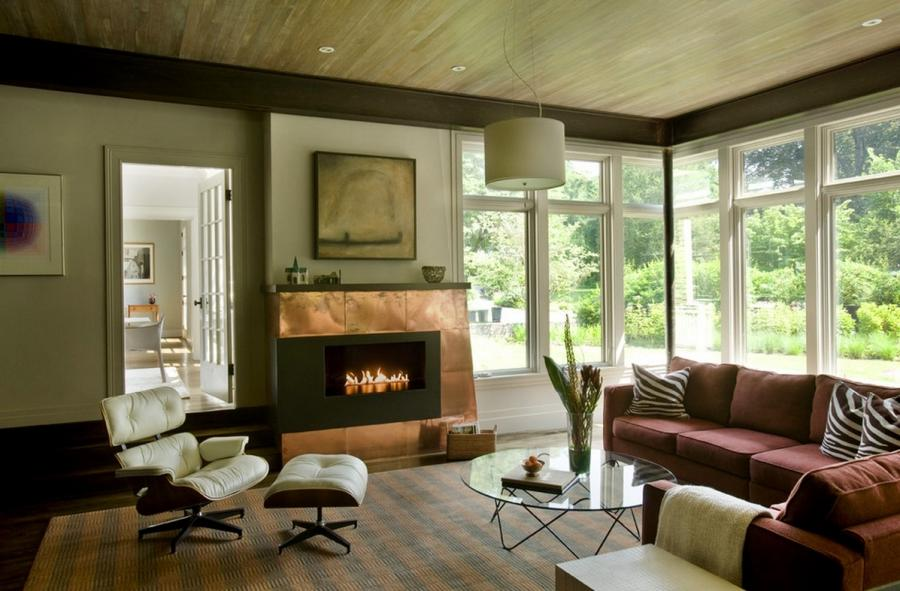 metal interiors copper fireplace surround 10 Hot Trends To Bring...