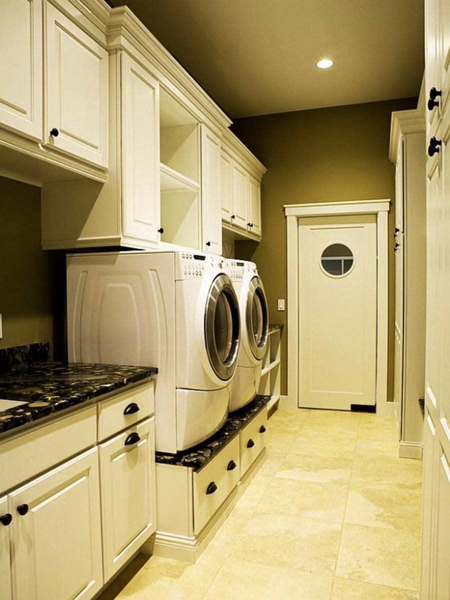 Photos decorated laundry rooms