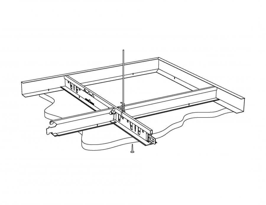 Photo Drywall Grid System