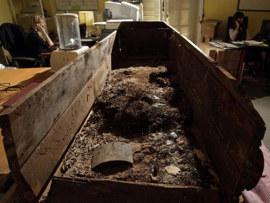 Exhumed Casket Photos