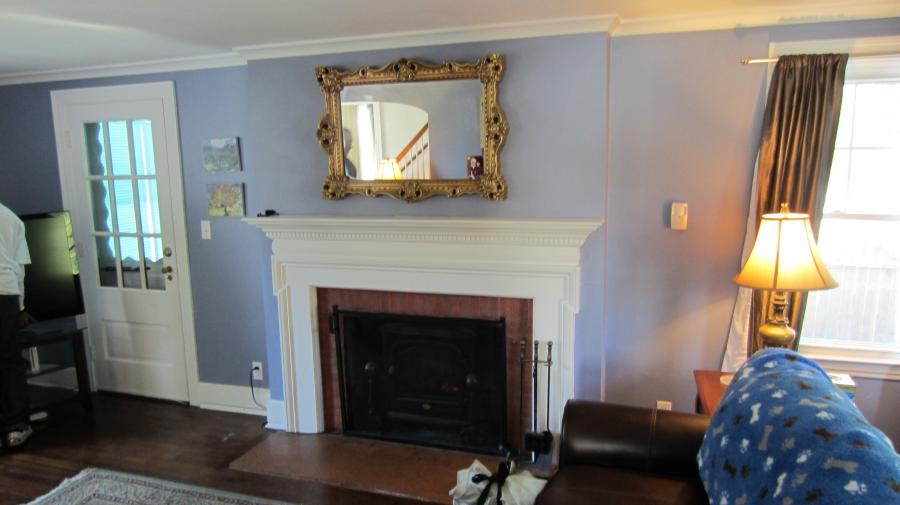 Tv Over Fireplace Photos