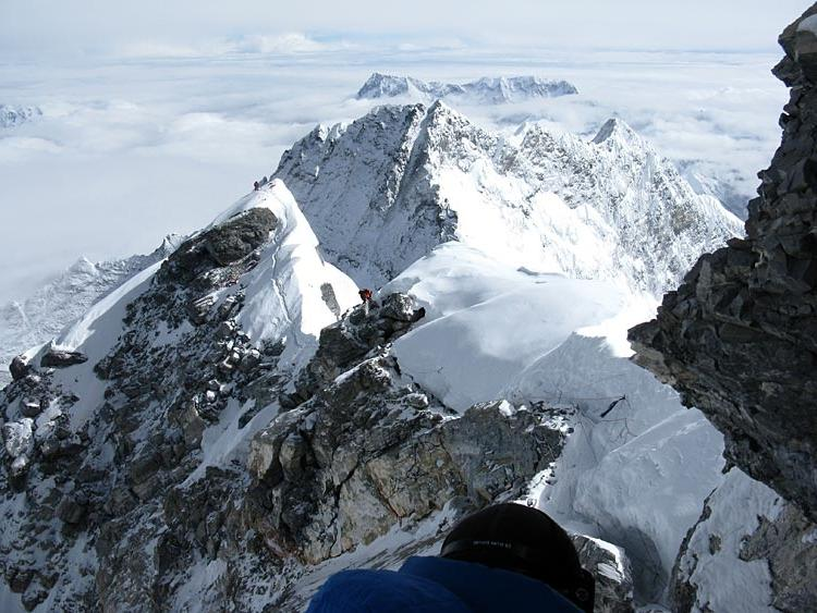 Greg Vernovage reports that all todayu IMG summit climbers are...