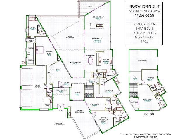 Contemporary house plans with photos for Custom home plans arizona