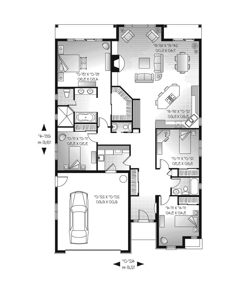 Hacienda House Plans Photos
