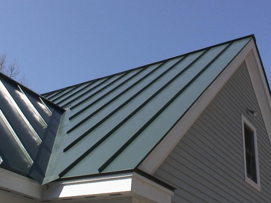 Flat Metal Roof Photos